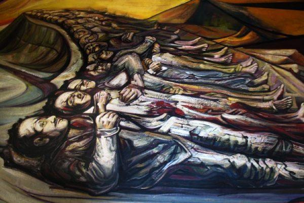 Mural de David Alfaro Siqueiros