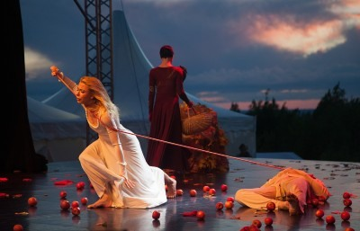Representación de Romeo y Julieta