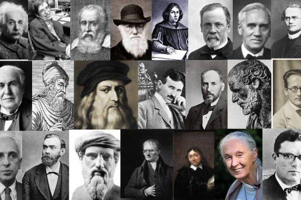 científicos más famosos de la historia